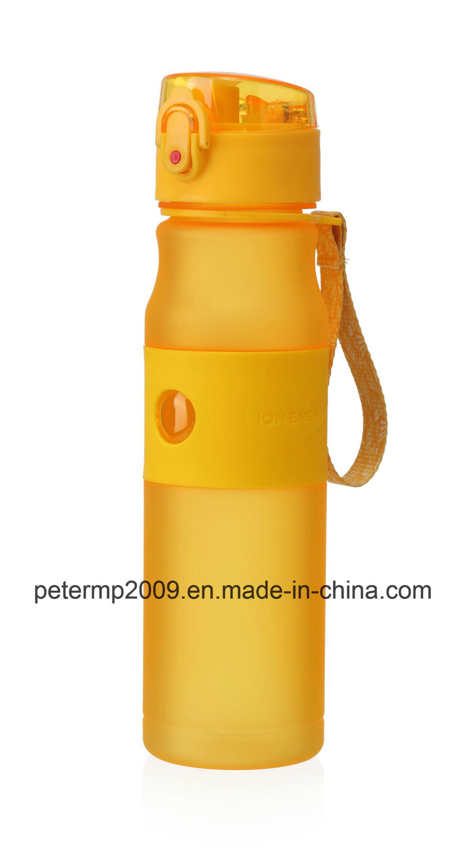 580ml 20oz Plastic Tritan Infuser Water Bottle, Customized Plastic Sport Water Bottle