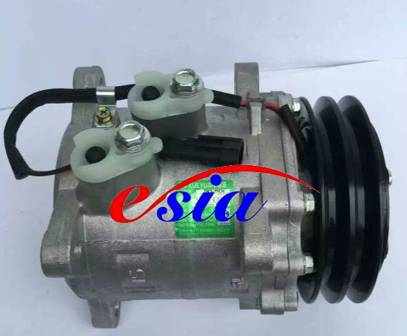Auto Parts AC Compressor for New Heijingang D-Max Cr12s 1A 125mm