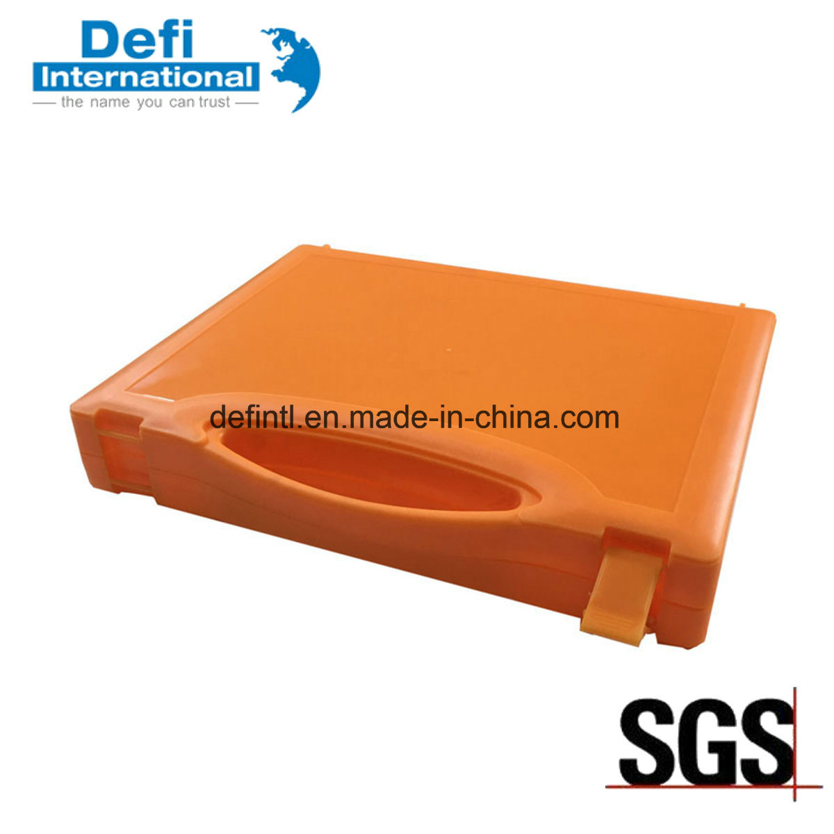 Colorful Storage Plastic PP Box with Lock