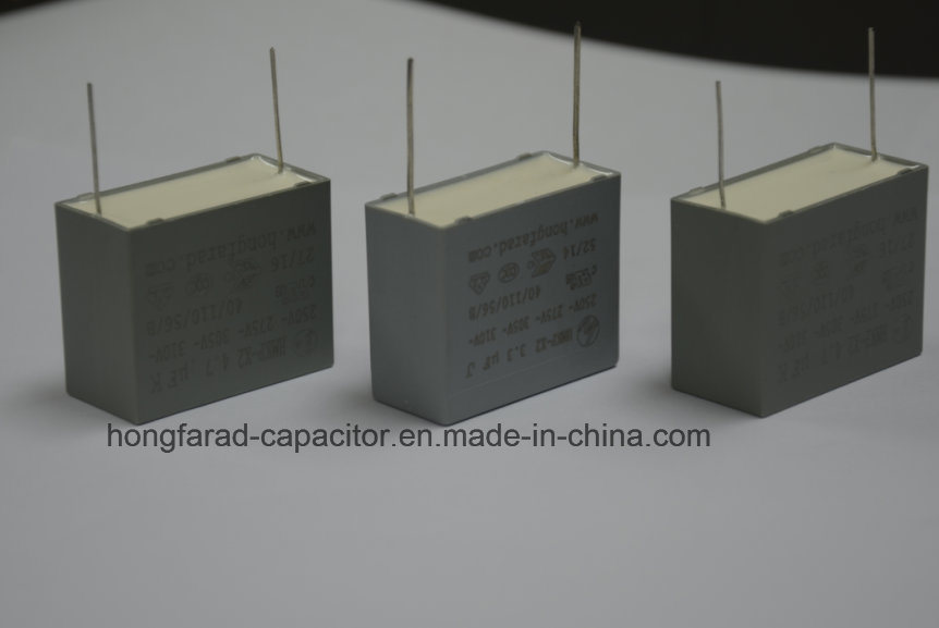 Box Type Cl21X Meb Metallized Polyester Film Capacitor