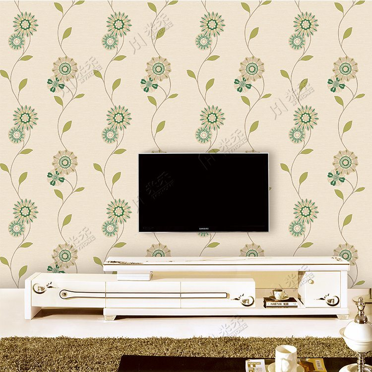 Made in China Cheap Price Wholesale Fashion Design PVC Wallpaper