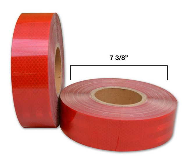 Adhesive DOT C2 Red Reflector Reflective Tape for Trailers (CG5700-OR)