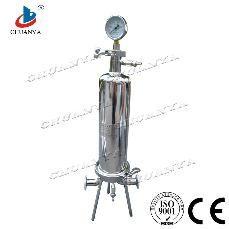 Stainless Steel Filter High Flow Filter Single Cartridge Filter