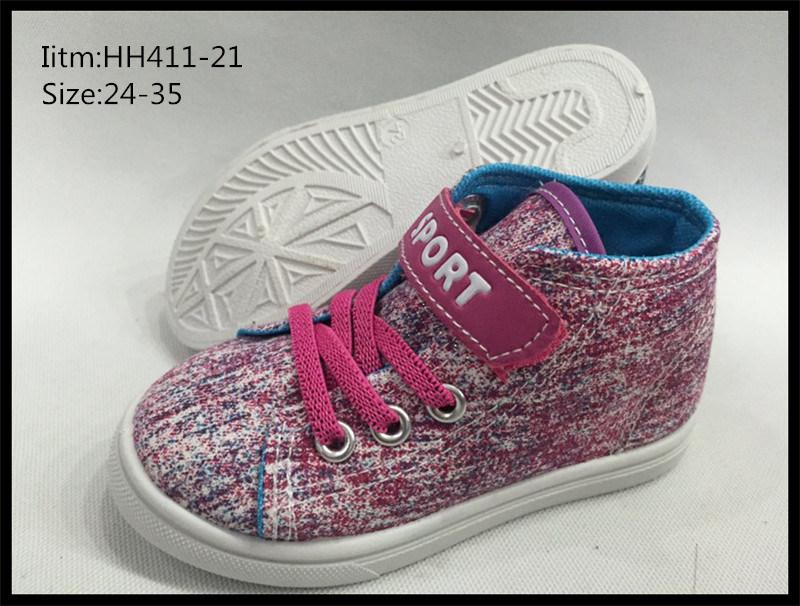 Latest Design Children Canvas Shoes Leisure Shoes Sport Shoes (HH411-19)