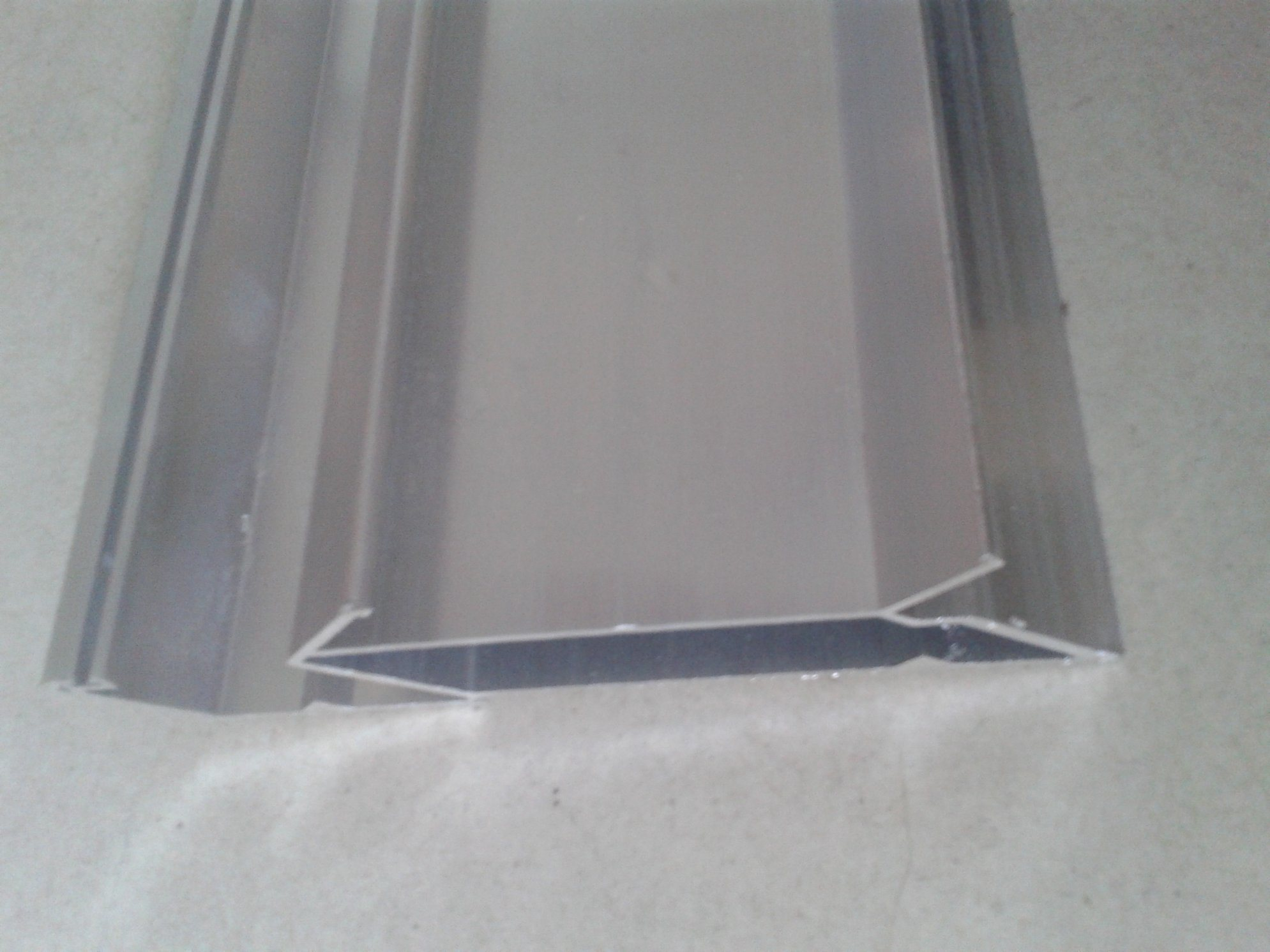 Big Size Aluminium Corner Profile for Glass Curtain Wall