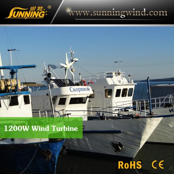 Marine Use Wind & Solar Hybird Power System Use Small Wind Power
