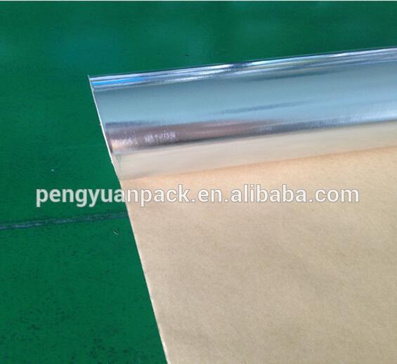 Aluminum Foil Padded Kraft Paper for Food Packaging Material