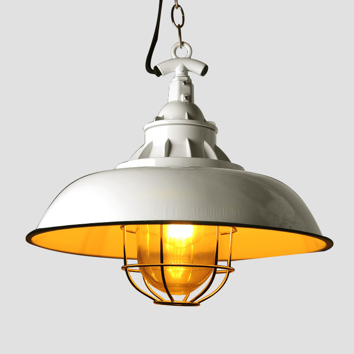 White Modern Decoration Enamel Pendant Light for Bar and Dining Room (Ce RoHS Certification)