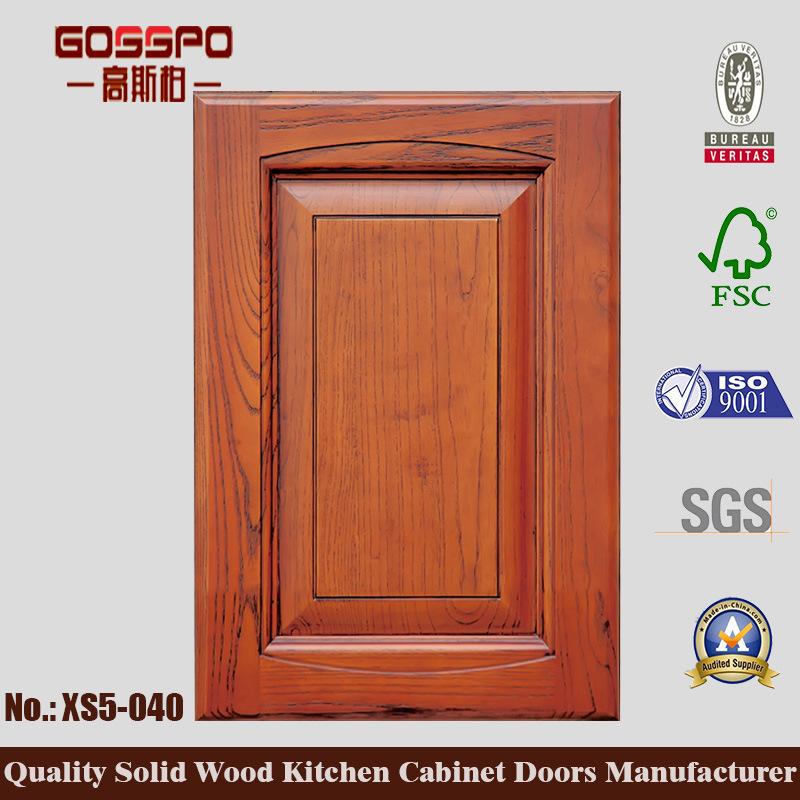 Korean Style Teak Kitchen Cabinet Door (GSP5-040)