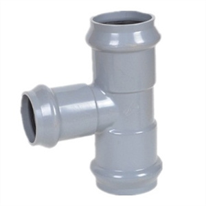PVC Reducing Tee with Flange End DIN Standard