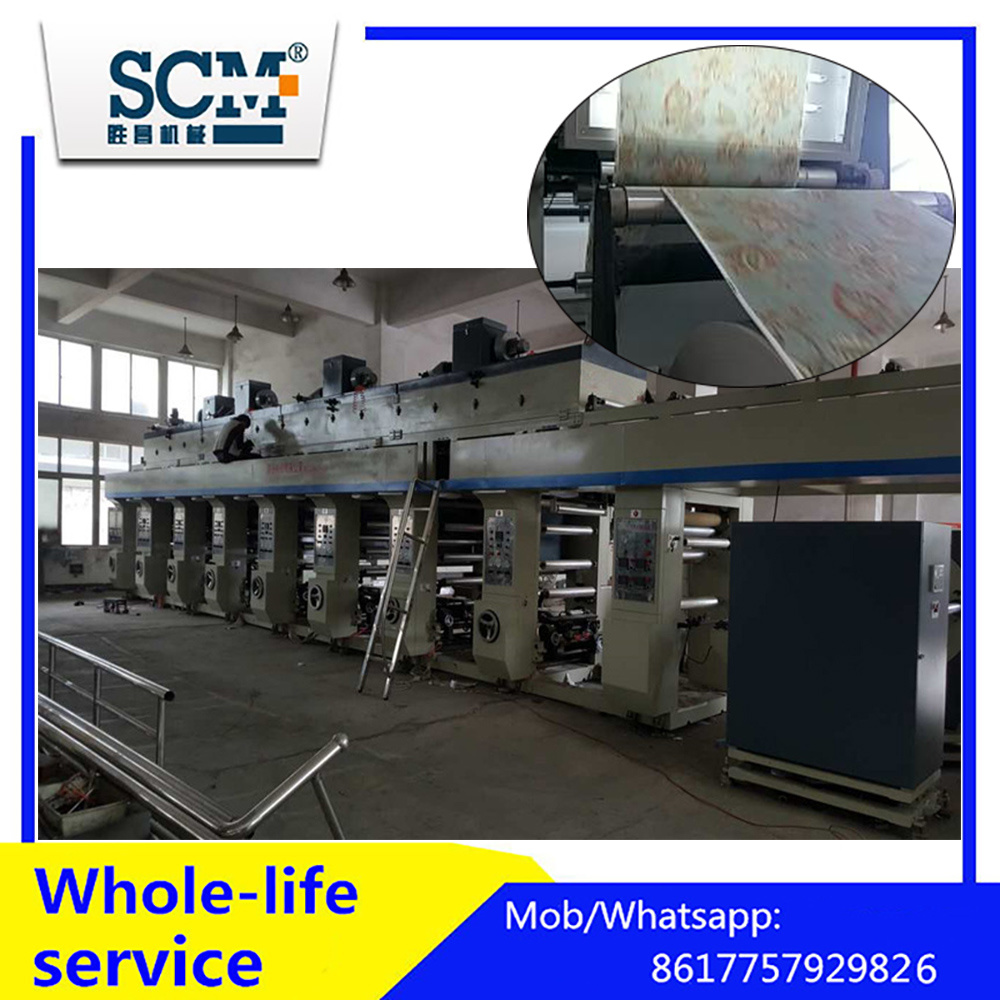 Automatic High Speed Wallpaper Making Machine