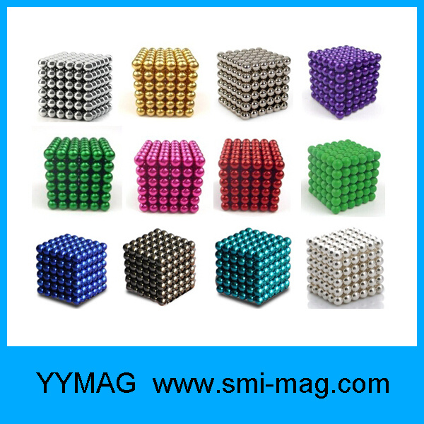 5mm 216 PCS Magnets Sphere Magnet Ball Magnet Cube Neo Cube