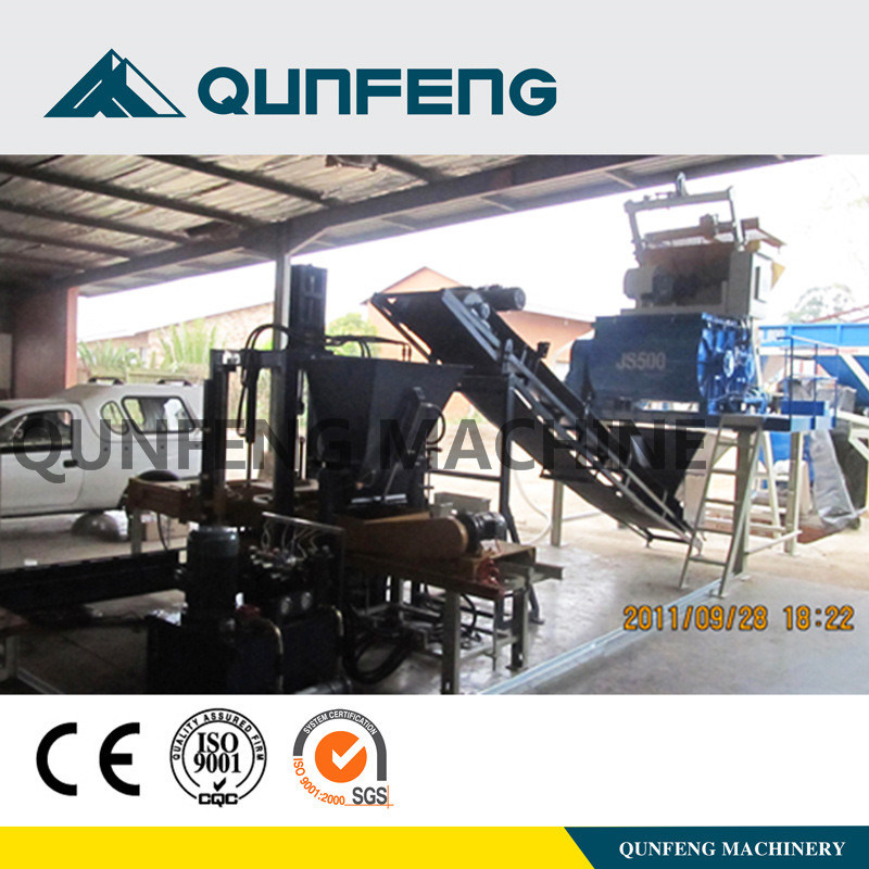 Qft3-20 (Manual) Block Making Machine