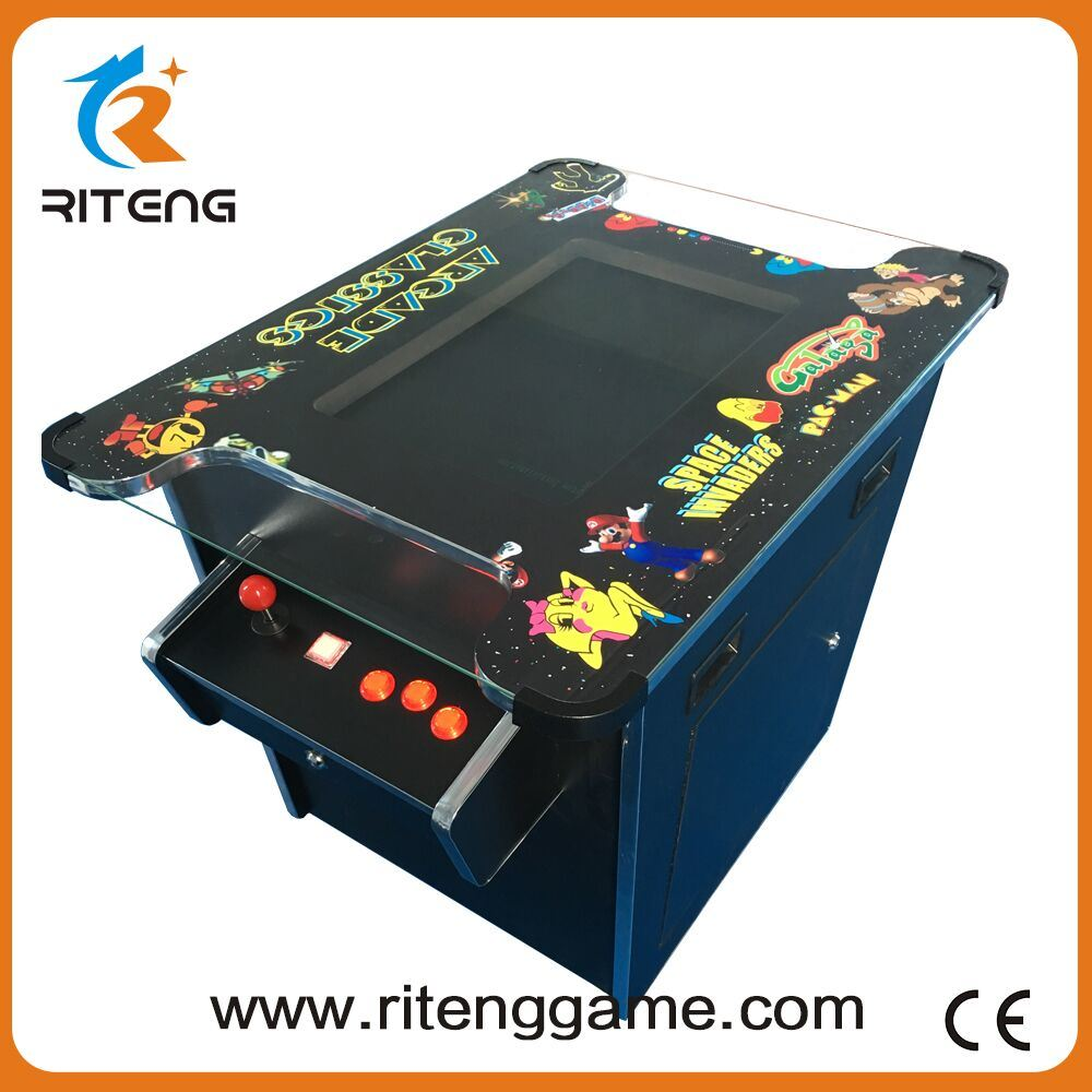 2 Player 60 in 1 Cocktail Table Arcade Game Machine