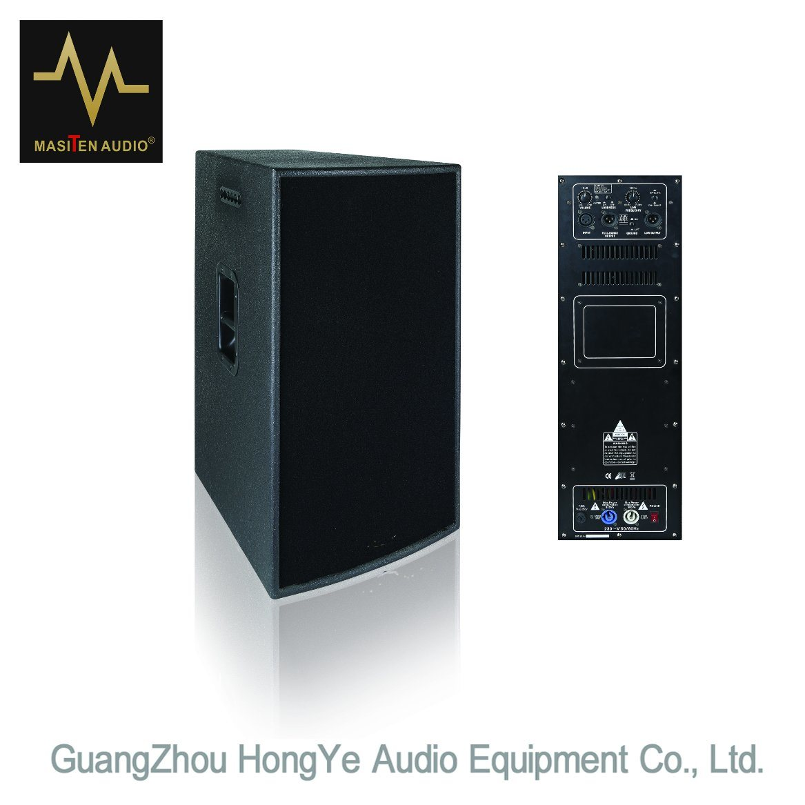 """Dp-10 10"""" Two Way Active System Professional Audio Loudspeaker"""