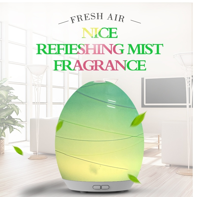 Aroma Diffuser with Glass Cover (GL-1013-A-018)