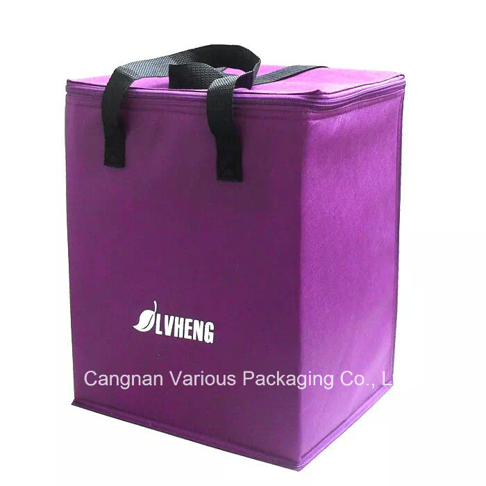 Big Capacity Non Woven Insulated Cooler Bag, Carrier Bag, Food Bag