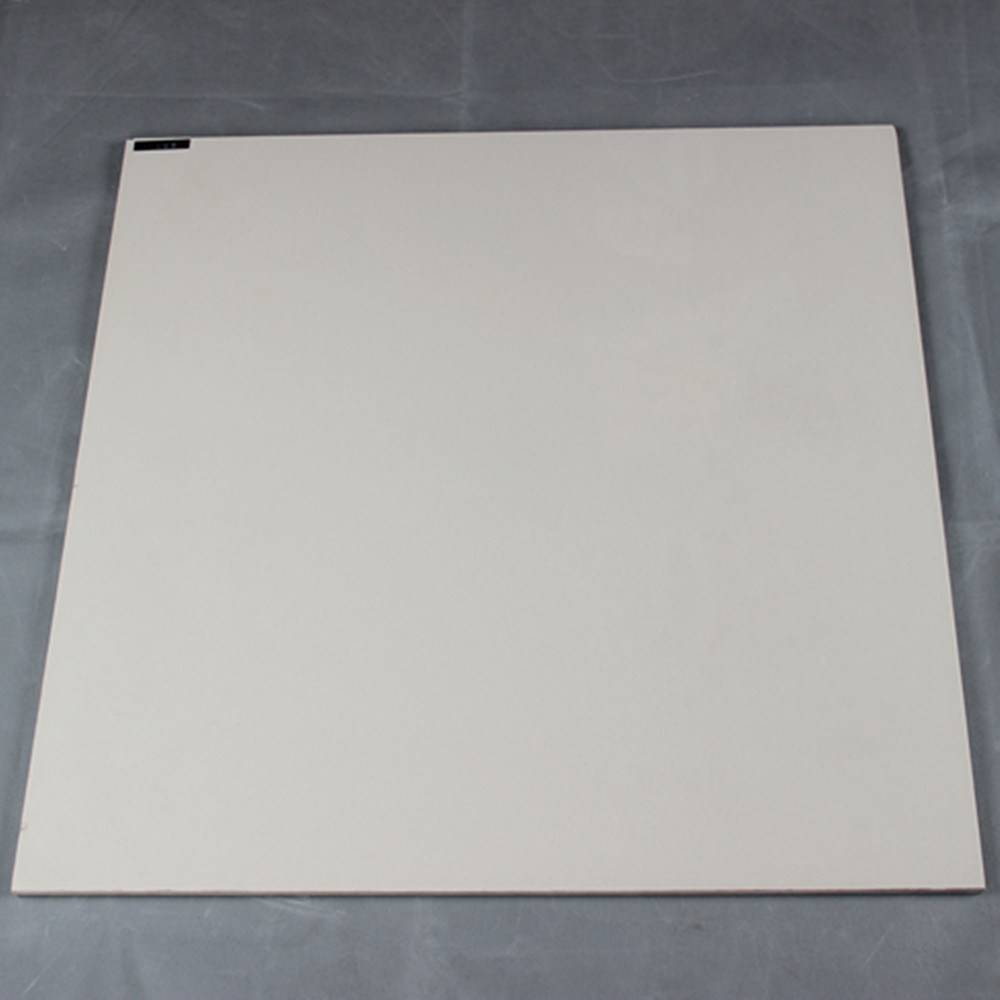 600X600mm Ceramic Building Material Ivory White Soluble Salt Polished Porcelain Floor Tile
