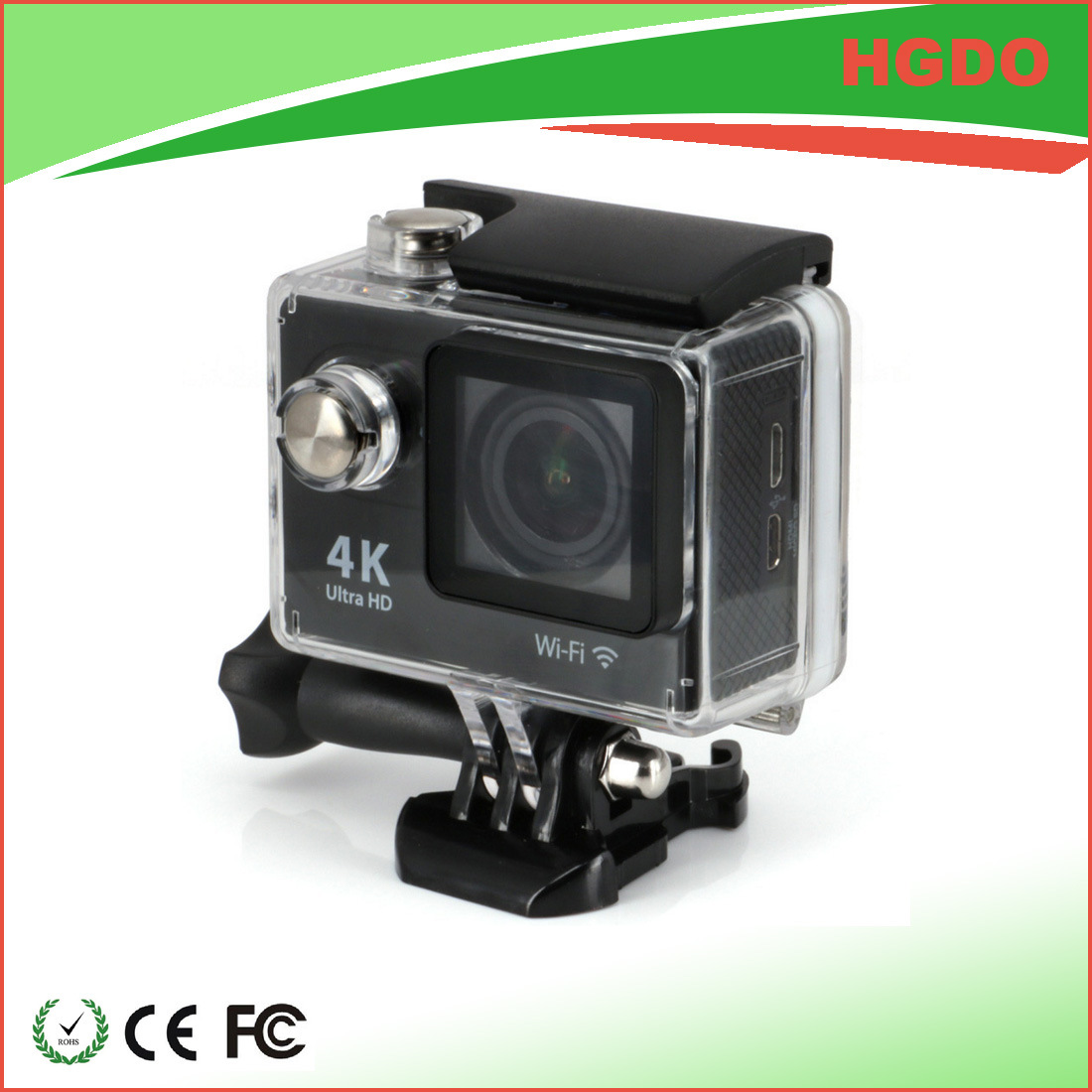 Mini 4k Deporte DV Digital Sport Camera with Waterproof Case