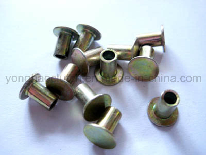 High Quality L10 Semi Tubular Steel Rivets for Brake Lining Use