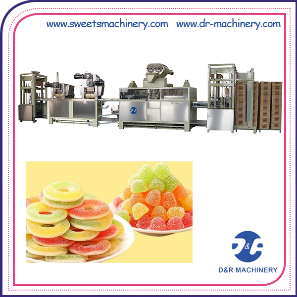Starch Mogul Plant Jelly Candy Production Line Candy Machine