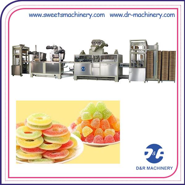 Starch Mogul Plant Jelly Candy Production Line Candy Machine