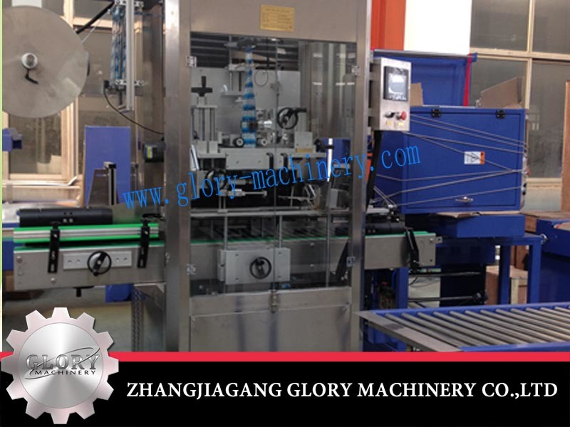 High Speed Automatic Bottle Shrink Sleeve Labeling Machine