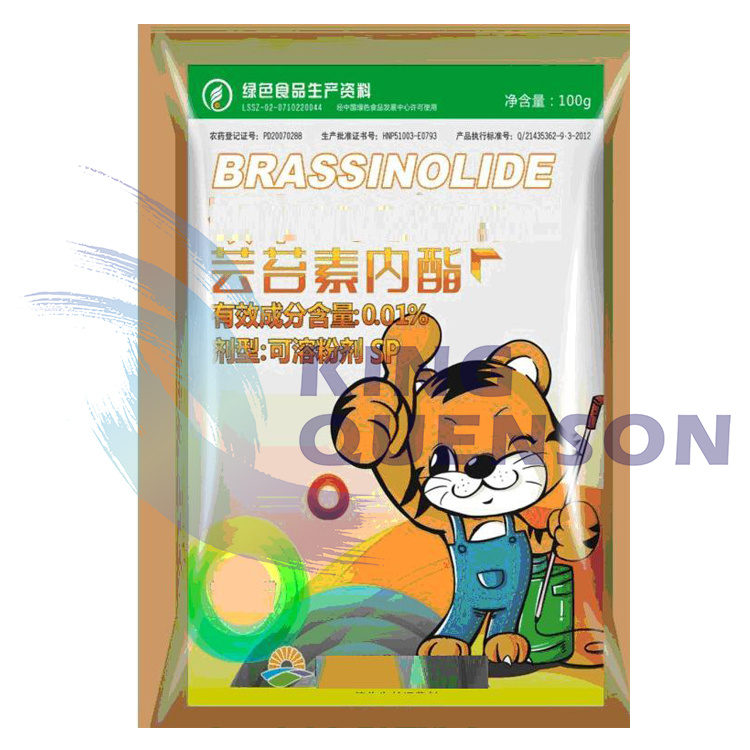 King Quenson Plant Hormone Brassinolide 95% Tc Brassinolide 0.01% Ec