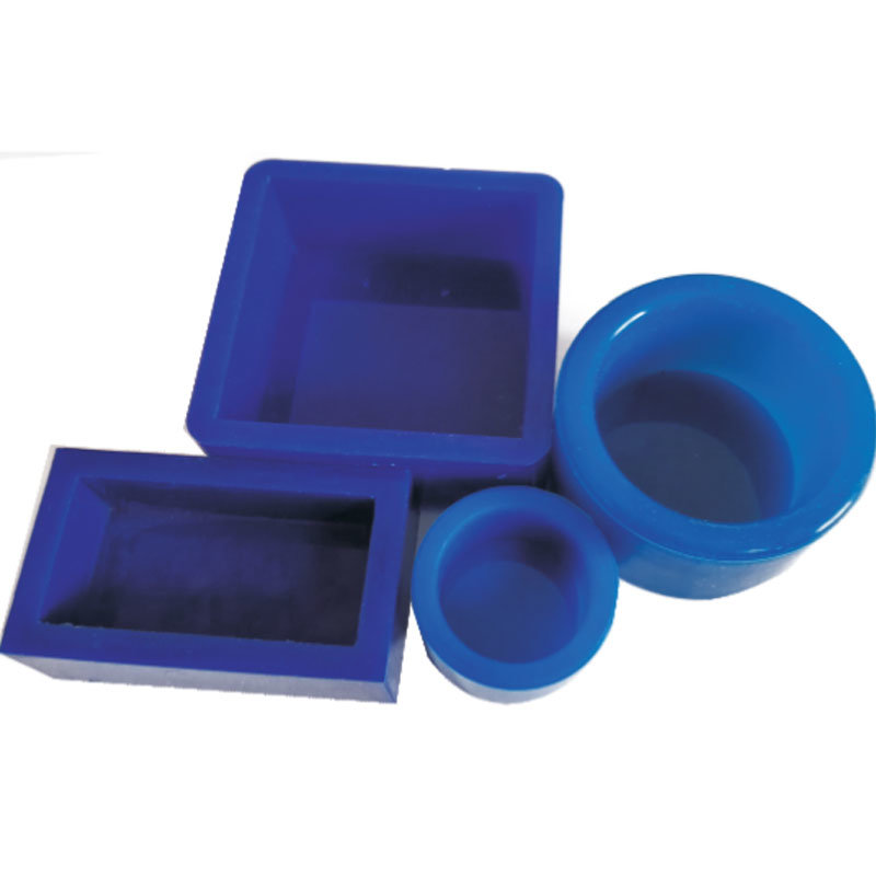 Separate Firm Molds and Silicone Molds