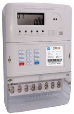 Three Phase Sts Keypad Prepaid Energy Meter with Plug-in GPRS Module