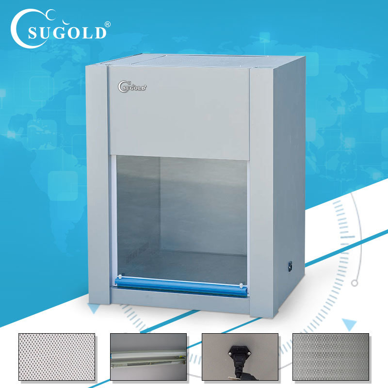Desktop Mini Laminar Flow Cabinet, Horizontal Air Flow
