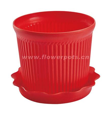 Color Plastic Flower Pot (KD9301N-KD9303N)