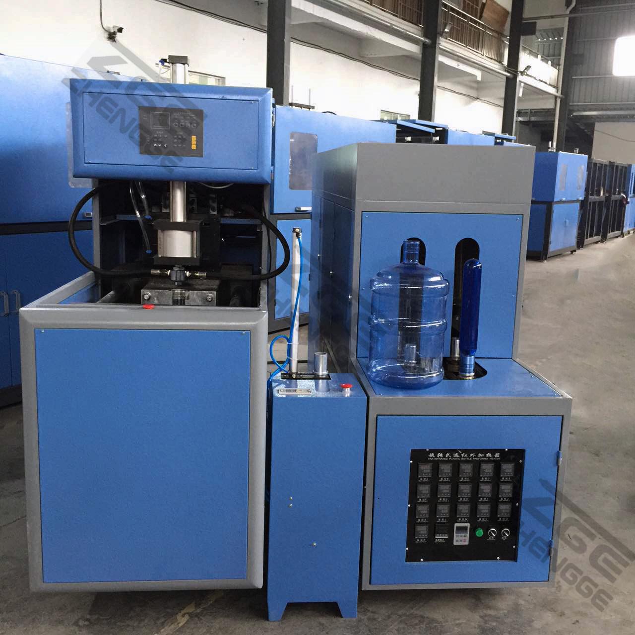 5 Gallon/18.9L Pet Bottle Blow Molding Machinery Semi-Automatic Type