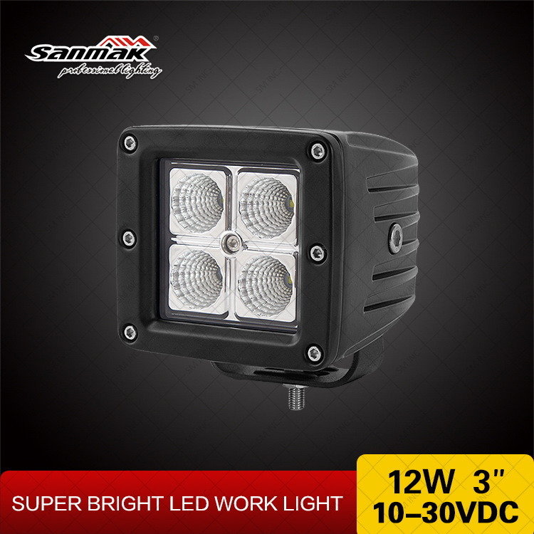 12W CREE Chip Truck Auto LED Work Light