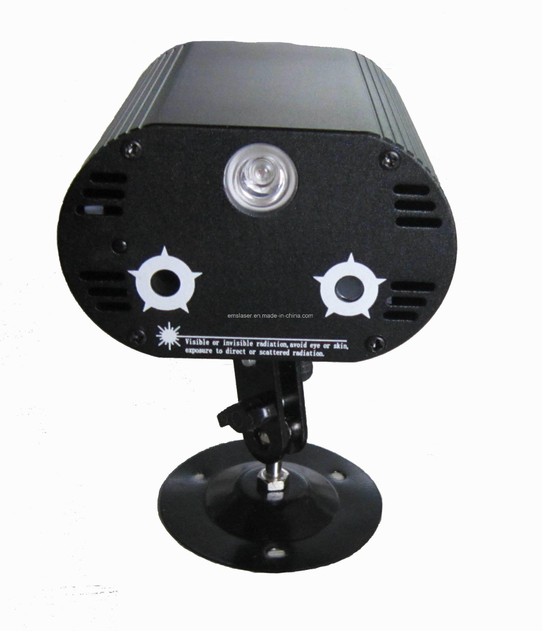 LED Laser Light Mini Laser Multi Patterns Effect LED RGB Laser Disco Light
