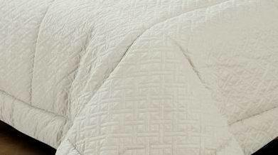 Bedding Set Solid Embossed Comforter Winter Quilt