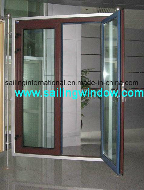 Aluminum Door French Swing out Door