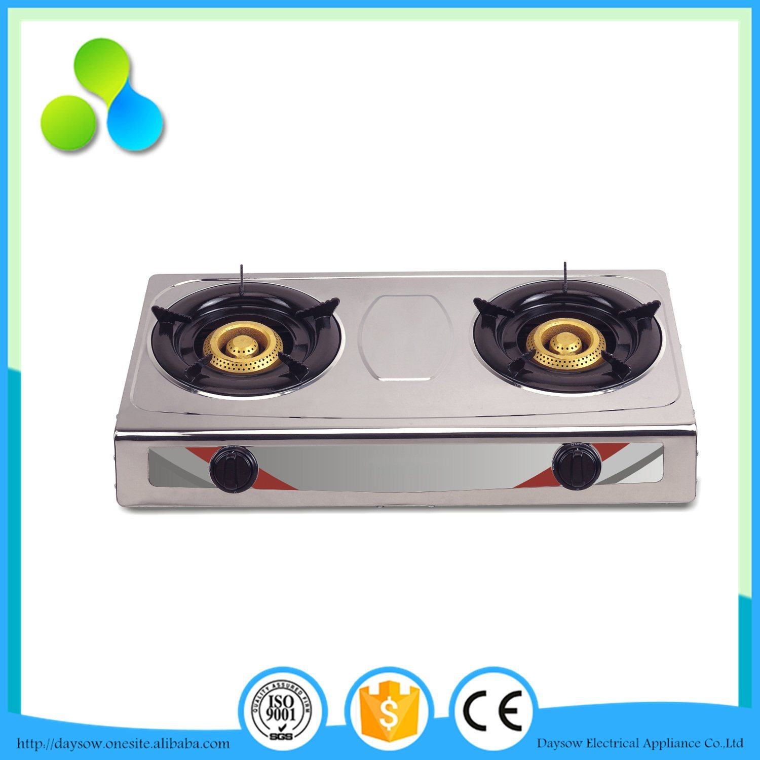 2 Burner Table Gas Cooker, Gas Stove