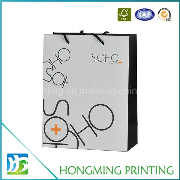 Custom Logo Printed Gift Paper Bag for Shopping