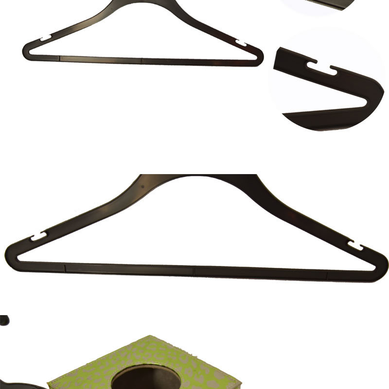 Fancy Sturdy Custom Brand Tip Top Hanger with Notches