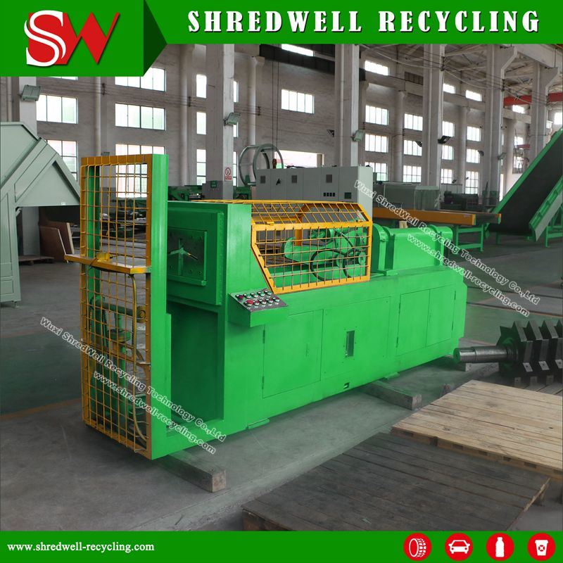 Scrap Tire Debeader for Waste/Used Tyre with Siemens Motor Drive