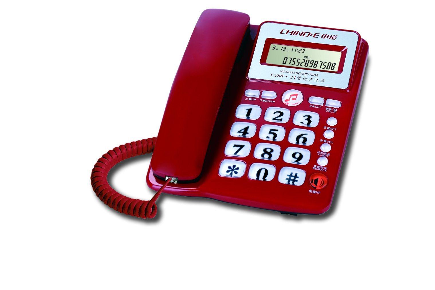 Caller ID Phone, Corded Phone, Home Phone, Lower Price, Handsfree Phone,