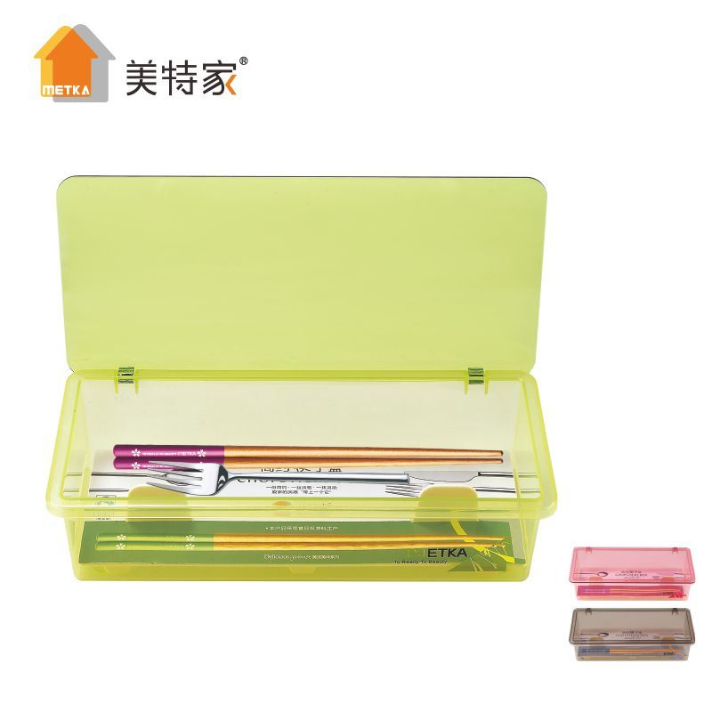6501 Metka Household Kitchen Supplies Plastic Chopstick Box Manufacturers