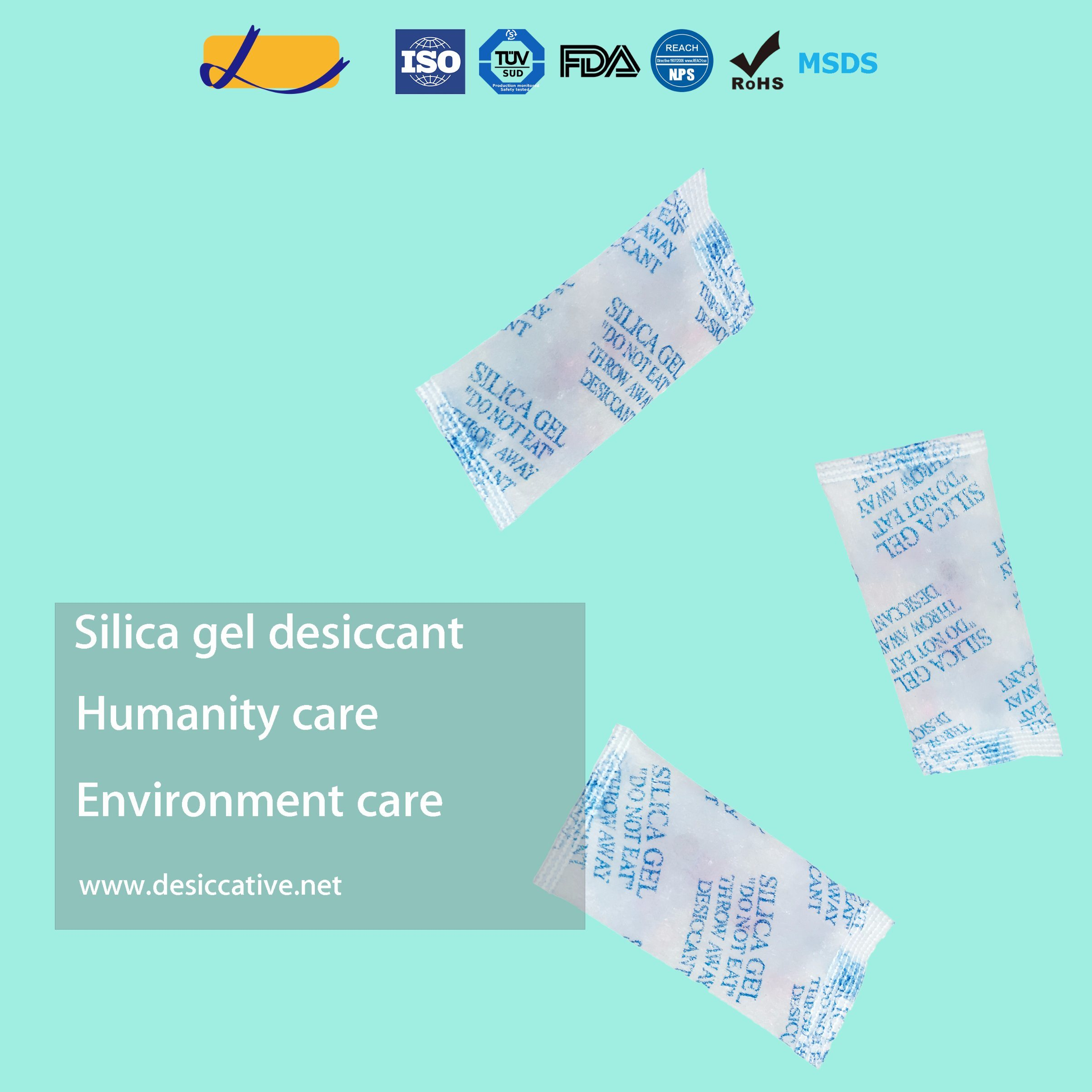 DMF Free Silica Gel Desiccant for Gift Box/Toy Dry