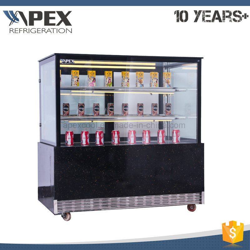 Apex Electric Cake Display Cabinet Cooler Showcase with LED Light