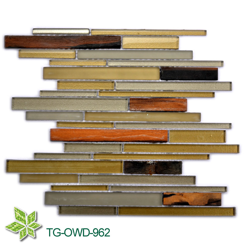 Glass Mosaic for Bathroom (TG-OWD-962)