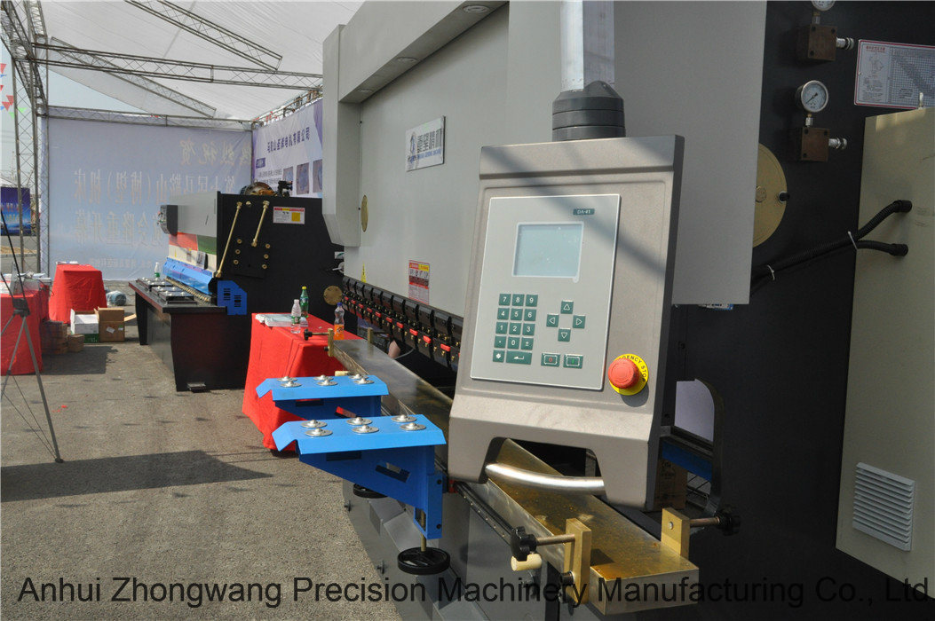 We67k 100t/3200 Series Electro-Hydraulic Synchronous CNC Bending Machine