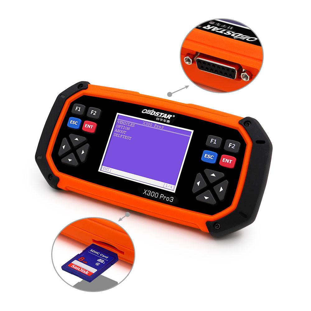 Obdstar X300 PRO3 Key Programmer Odometer Correction Tool Eeprom/Pic Update Online