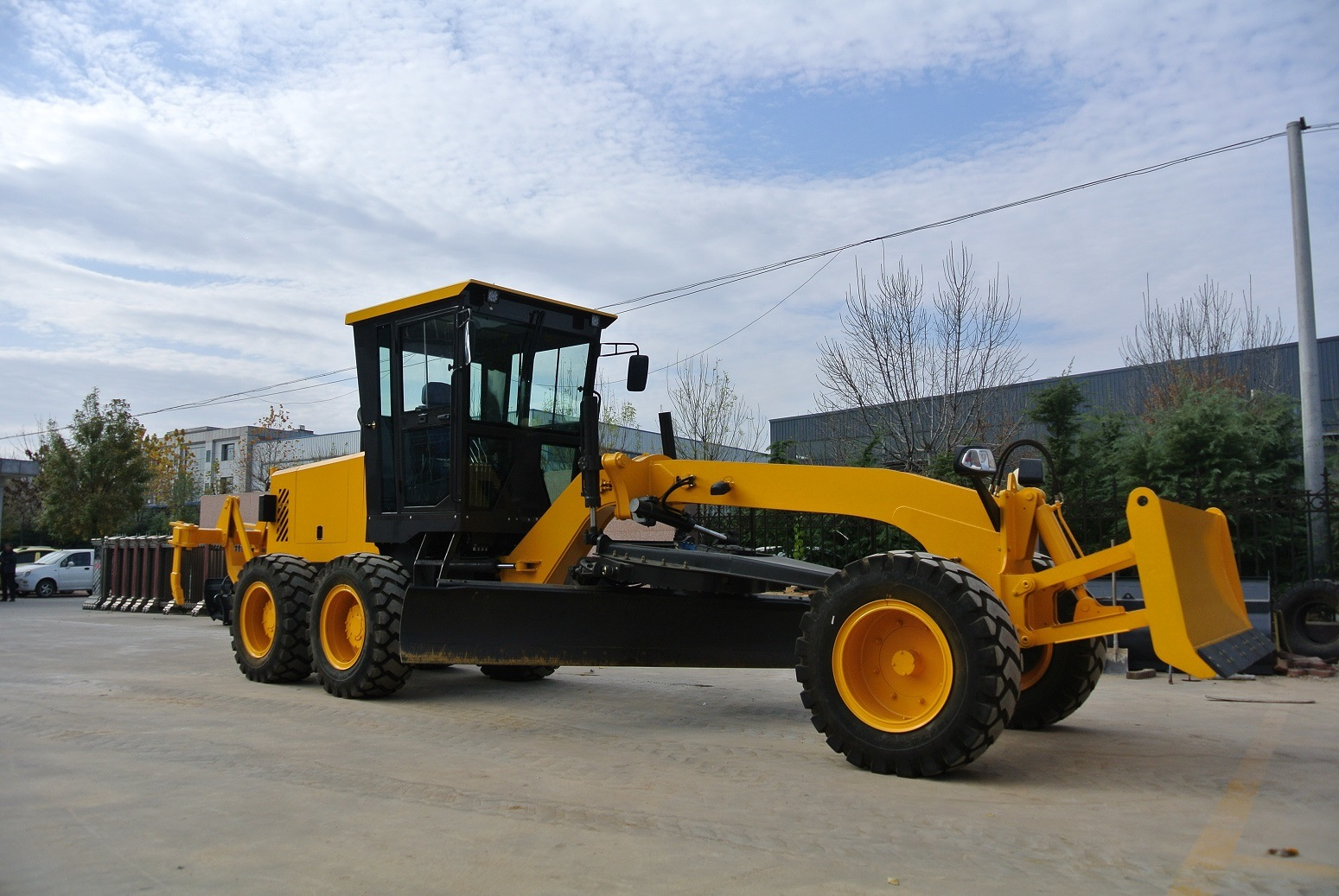 Eougem Function of Motor Grader Gr120