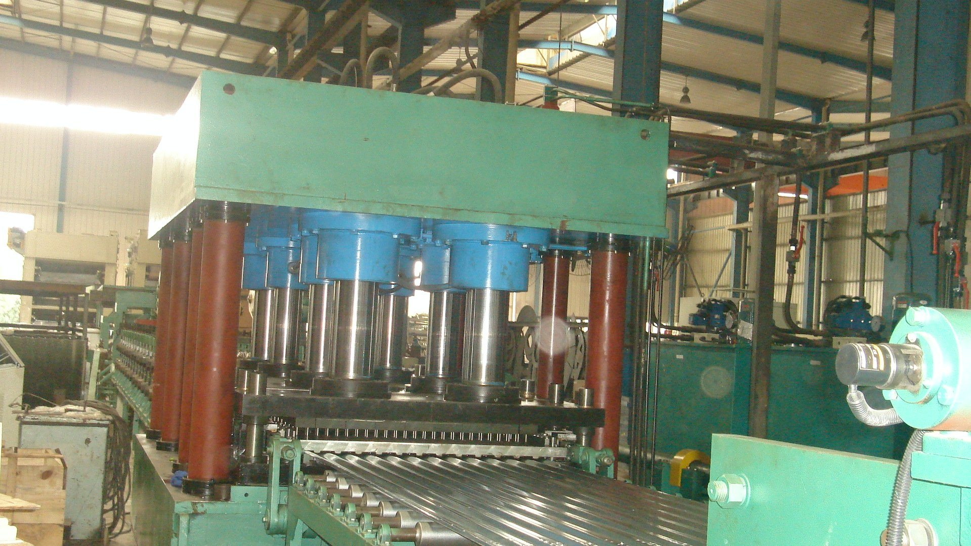 Grain Storage Metal Silo Roll Forming Machine